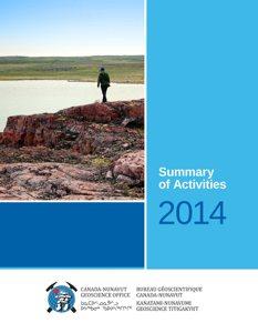 Summary of Activities 2014